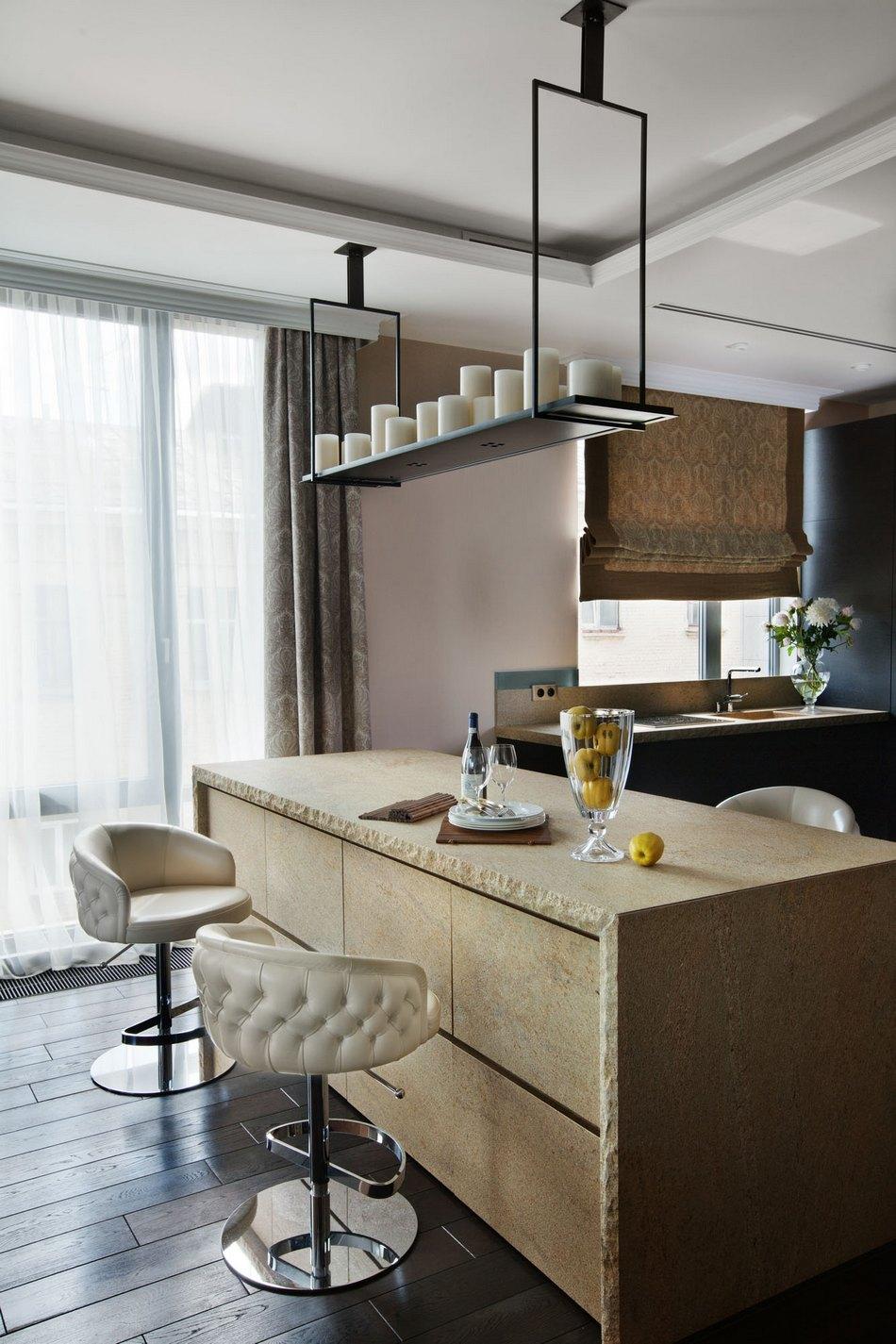 Современная квартира в центре Москвы от OLStudio
