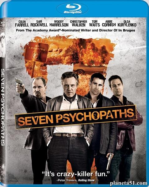 Семь психопатов / Seven Psychopaths (2012/BDRip/HDRip)