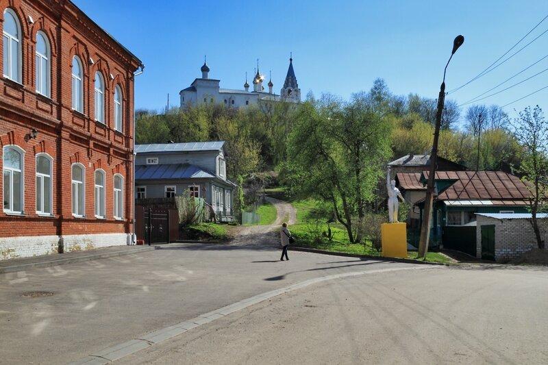Вид на Никольский монастырь, Гороховец