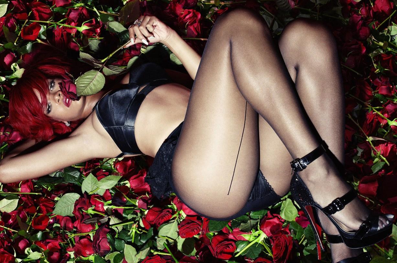 модель Rihanna / Рианна, фотограф Simon Emmett