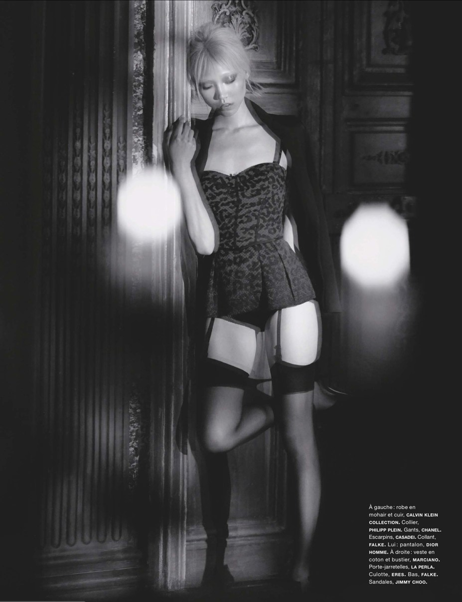 Су Джу Парк / Soo Joo Park by Wing Shiya in Numero #145