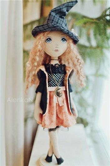 хеллуин кукла