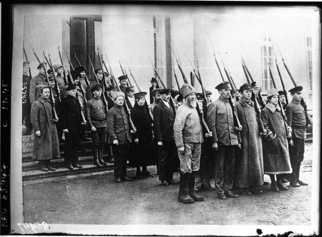 1918. Революция в Москве.