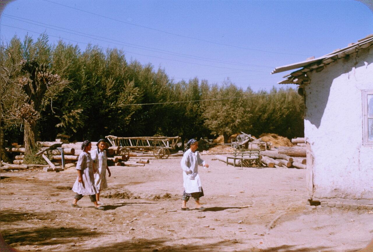 Колхозницы в колхозе им. Сталина