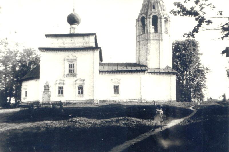 Ильинский храм п. Палех (фото нач. 80-х гг. XX в.).
