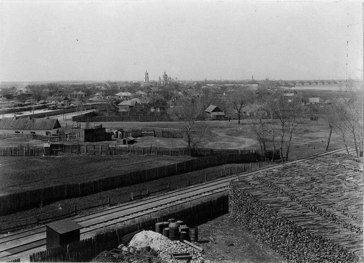 Вид на город с Крюкова моста