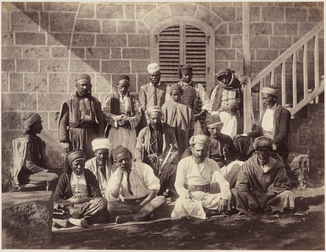 6 мая 1862. Обслуживающий персонал лагеря, Бейрут