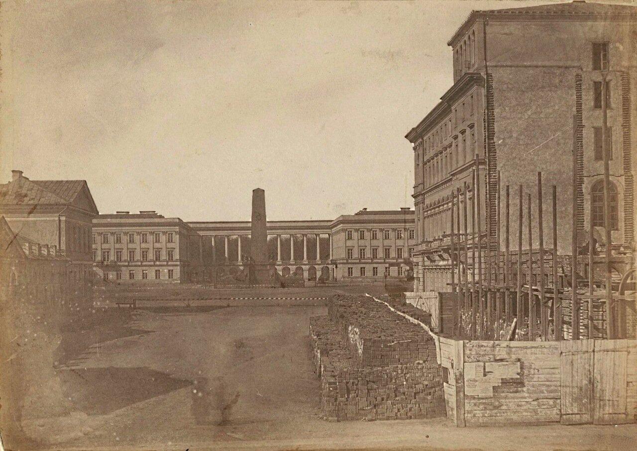 Саксонский дворец. 1855