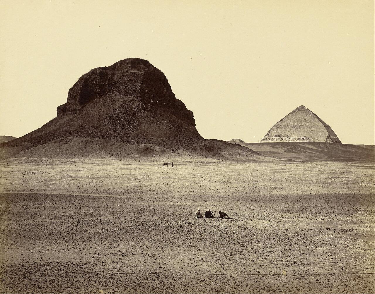 Пирамиды Дашура с востока