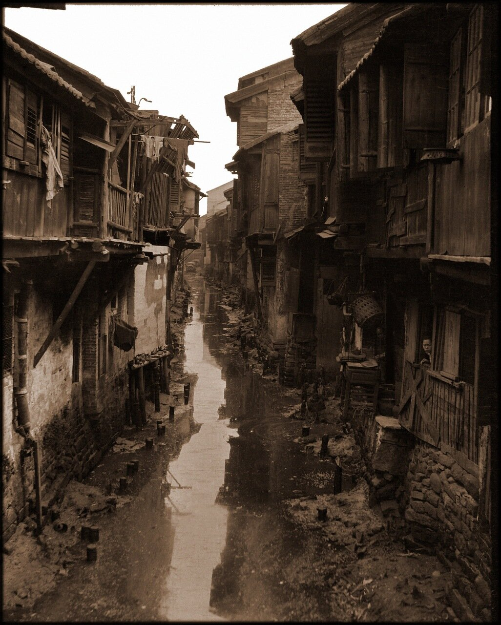 1917-1919. Внутренний канал, Кантон