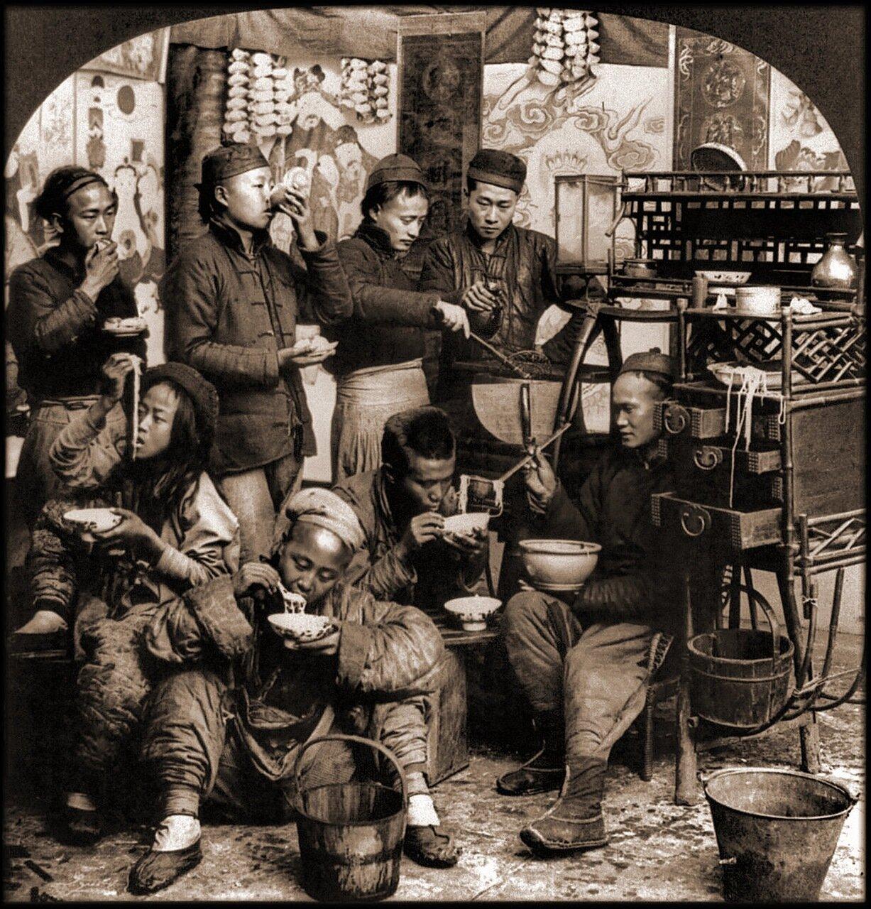 1919. Передвижная столовая Чоу в Кантоне