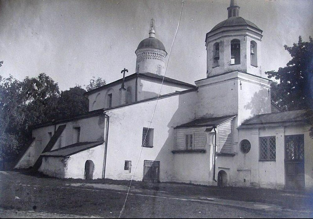 1926. Храм Илии Пророка с Мокрого Луга с северо-запада
