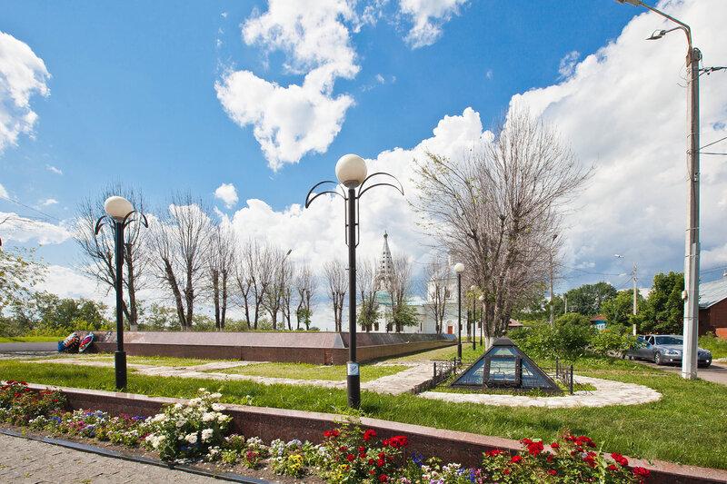 Мемориальный комплекс на Красной Горе в Серпухове