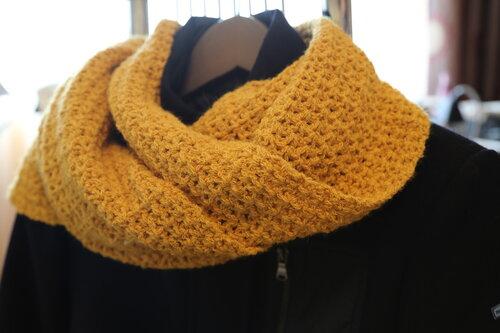Сшить шарф как петля мебиуса 23