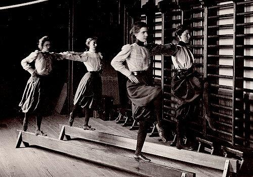 Women's Gym Class, 1899