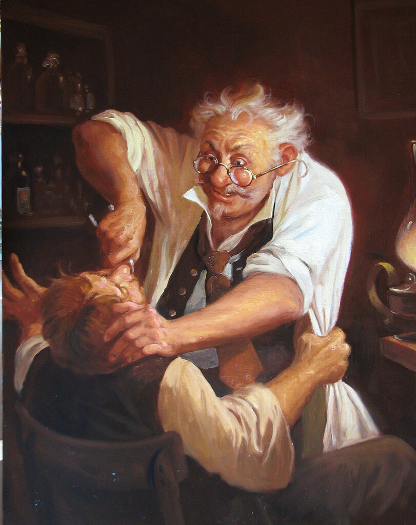 Touching Hearts Under The Hippocratic Oath Paintings