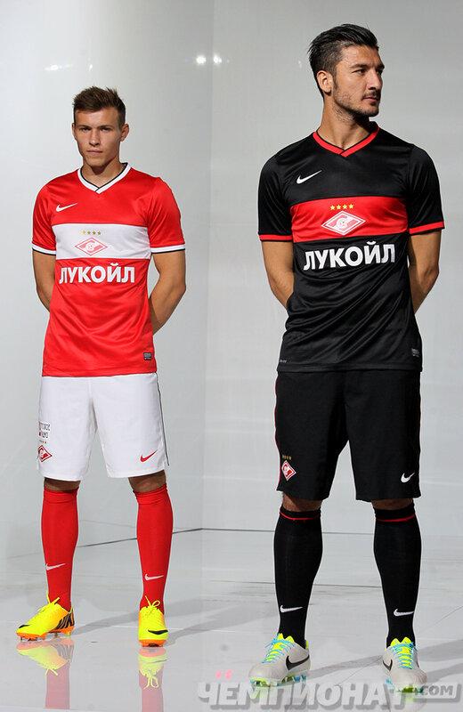 Новая игровая форма ФК «Спартак» (Москва) на сезон 2013-2014 (Фото)
