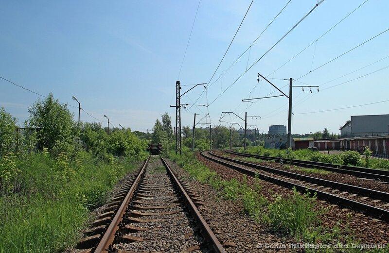 Окрестности станции Фрязино.