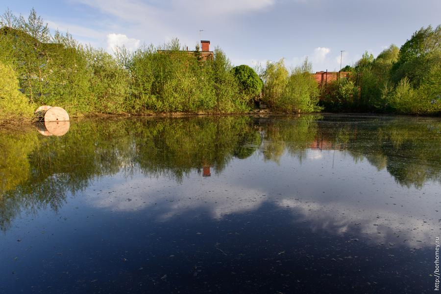 озеро в садовом обществе Союз