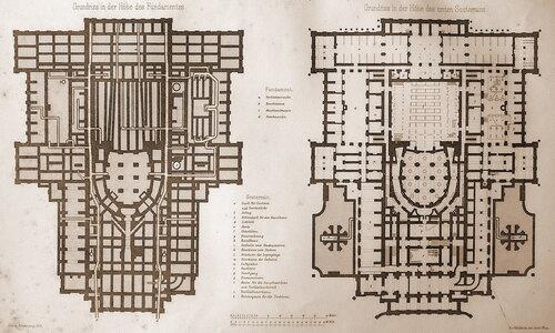 Венская государственная опера, план
