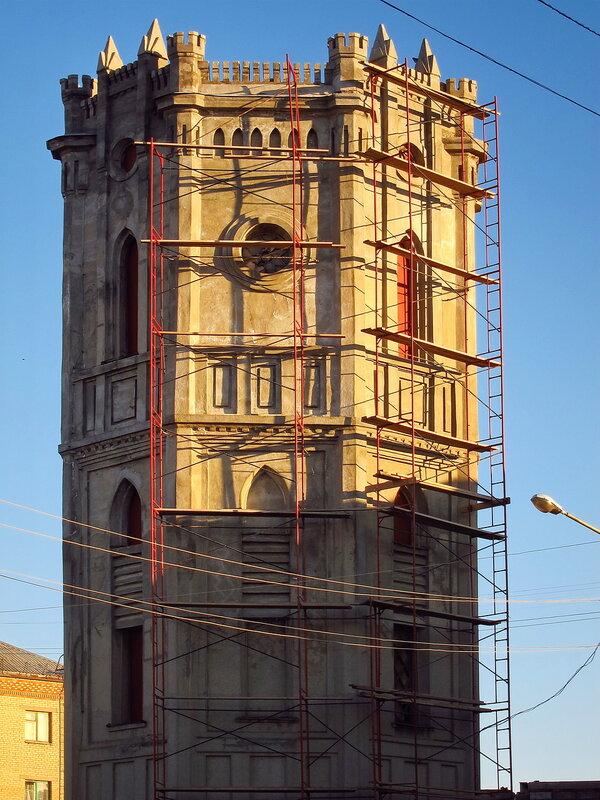 Водонапорная башня (11.03.2014)