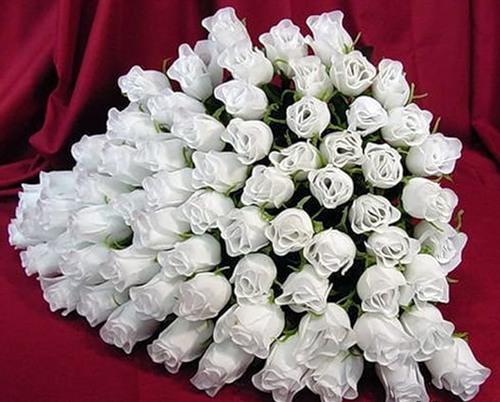 ПРЕКРАСНЫЙ БУКЕТ белых роз!