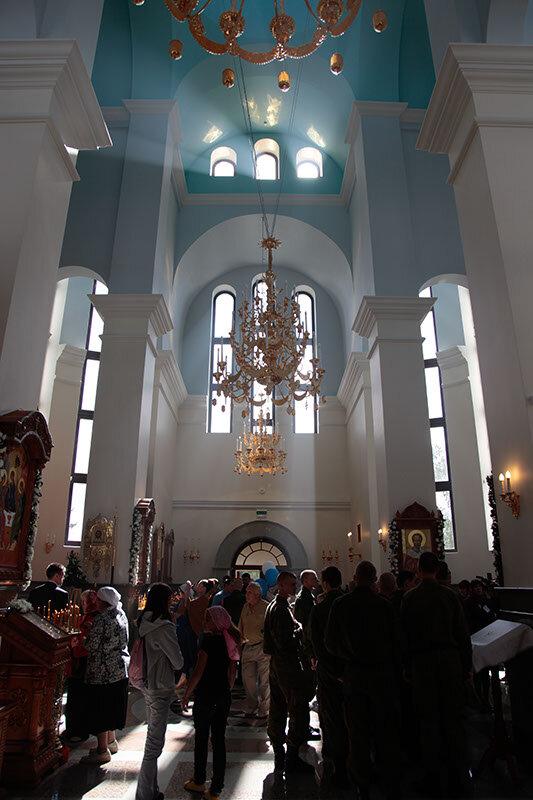 Внутренне убранство храма (22.05.2013)