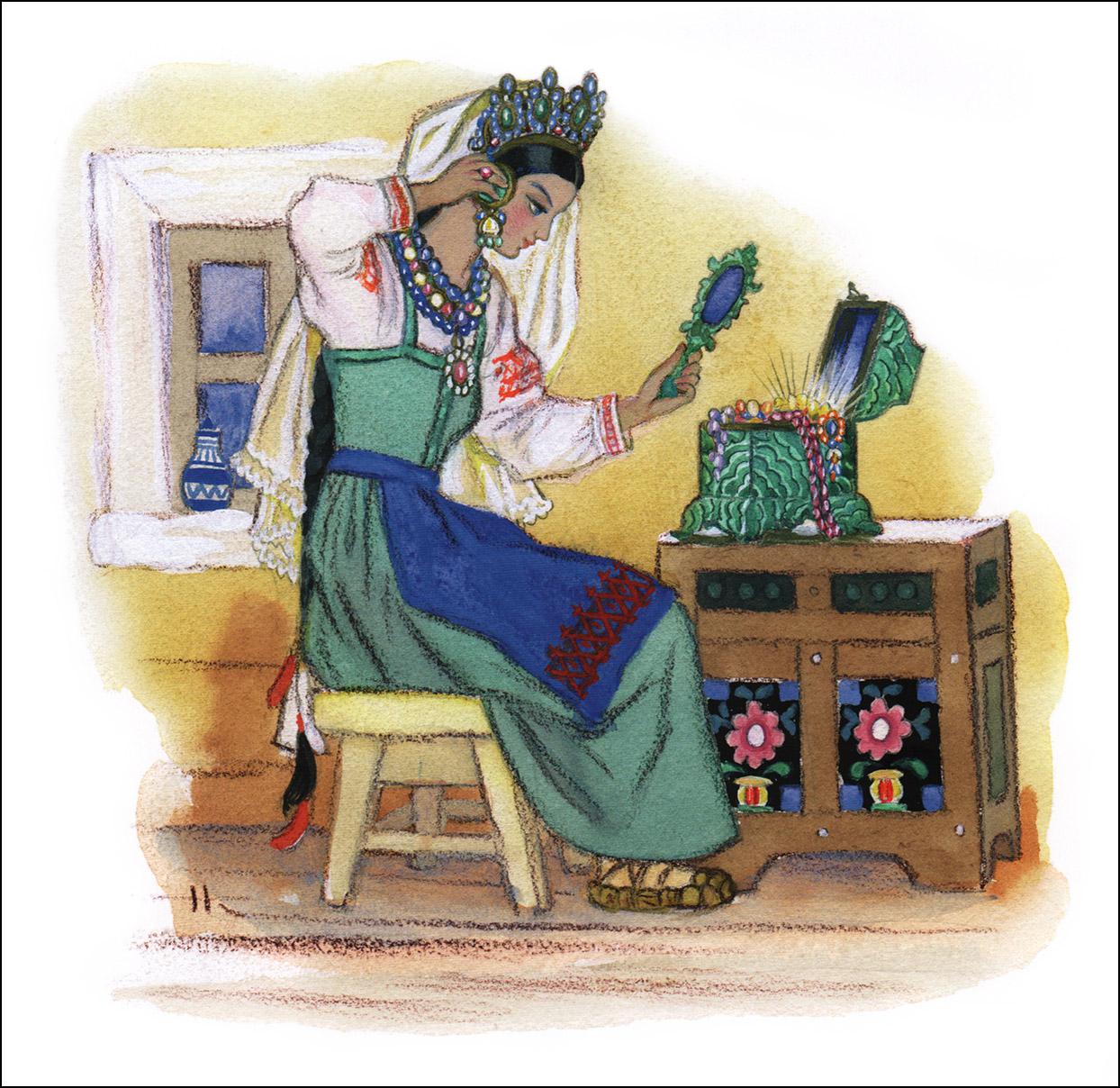 Николай Кочергин, Малахитовая шкатулка