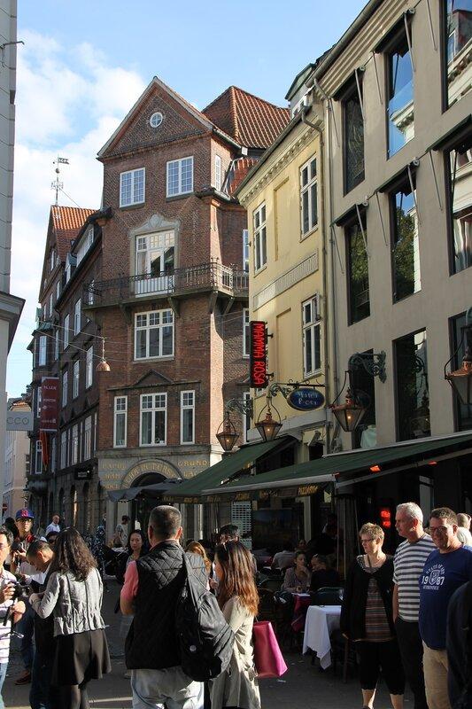 Copenhagen. Strøget street