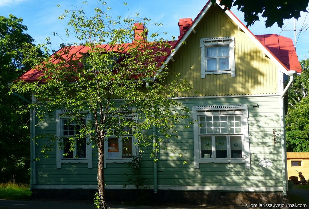 Финляндия. Коувола. Музейный квартал.