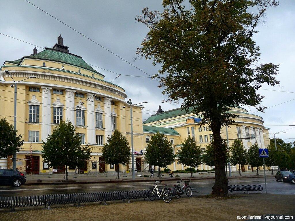 """Театр оперы и балета """"Эстония""""."""