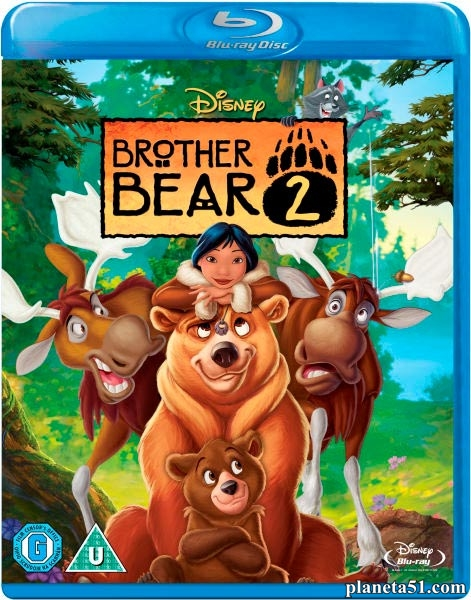 Братец медвежонок 2: Лоси в бегах / Brother Bear 2 (2006/HDRip)