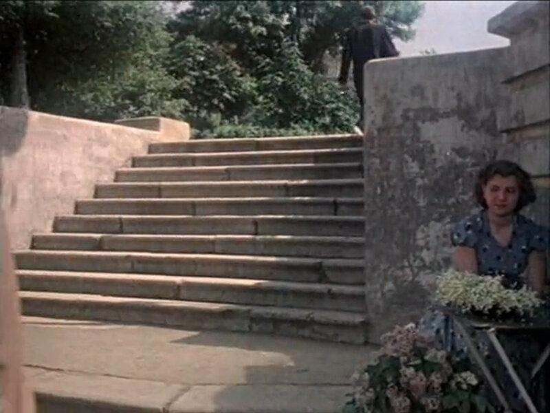 """Кадр из фильма """"Путешествие к Чёрному морю"""". 1957"""