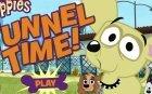 Щенячьи истории туннель времени игра для winx land