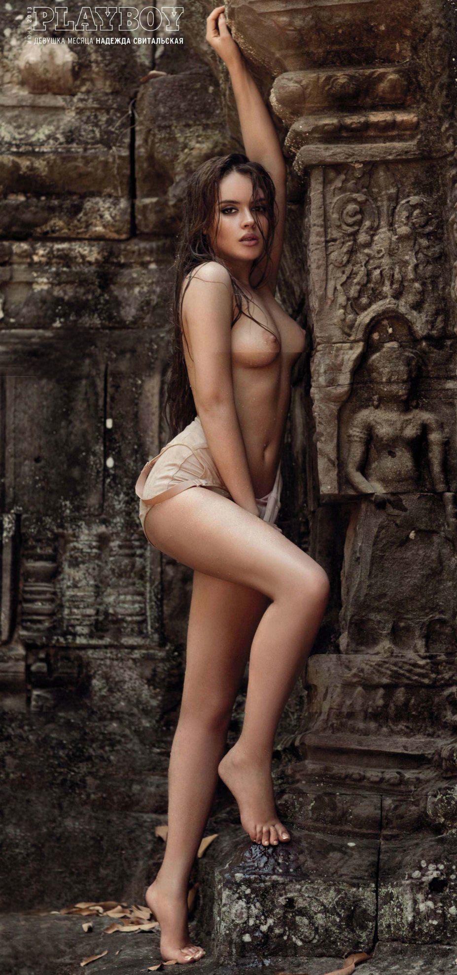 Девушка месяца Надежда Свитальская - Playboy Россия, июнь 2013