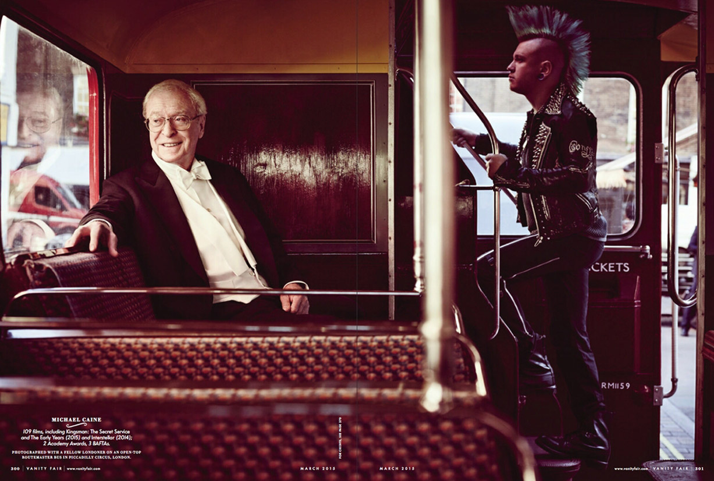 Лучшие британские актеры в проекте The 2015 Hollywood Portfolio by Jason Bell in Vanity Fair march 2015 - Майкл Кейн / Michael Caine
