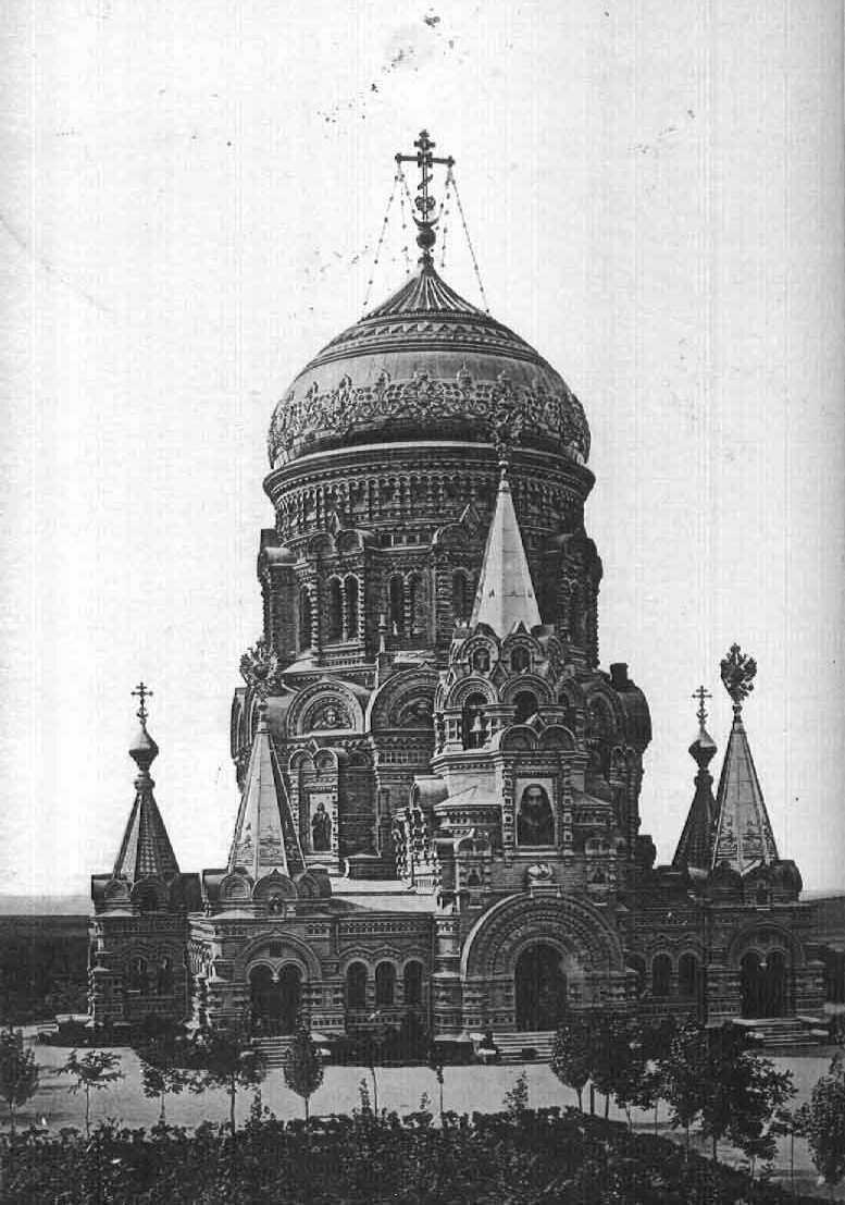 Храм Христа-спасителя в Борках.