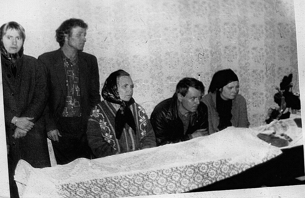 Похороны бабушки Фроси.