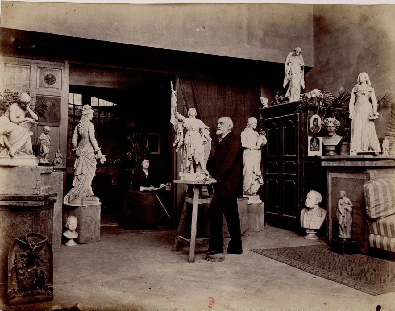 Эмиль Франсуа Чатроуссе (1829-1896) скульптор