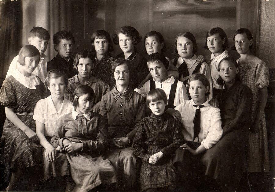 1934. 7 А. Железнодорожная школа.  Березники