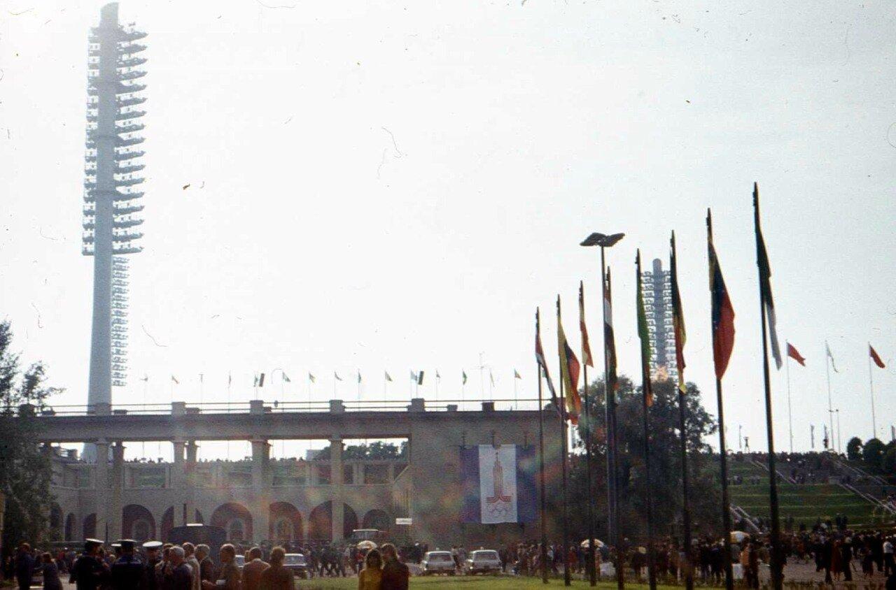 1980. Дорога на стадион им. С.М. Кирова