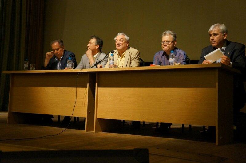 Выступления художников на Трибуне Академии наук