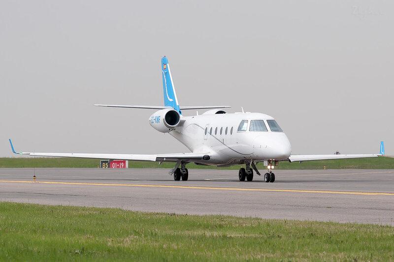 Gulfstream Aerospace G150 (EC-KMF) Executive Airline DSC2005
