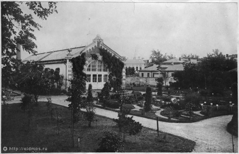 аптекарский огород богатая история