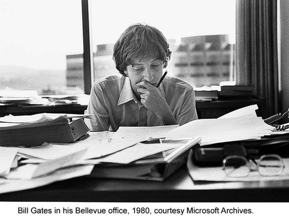 Билл Гейтс, 1980, фото