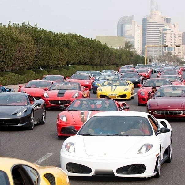 Пробки в Дубае