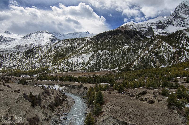 природа, гималаи, непал, горы