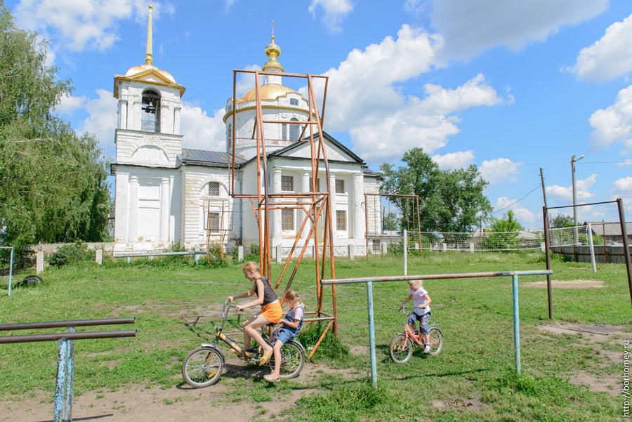 физическая культура в деревне
