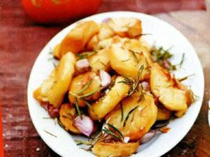 Как приготовить картофель в духовке с оливковым маслом