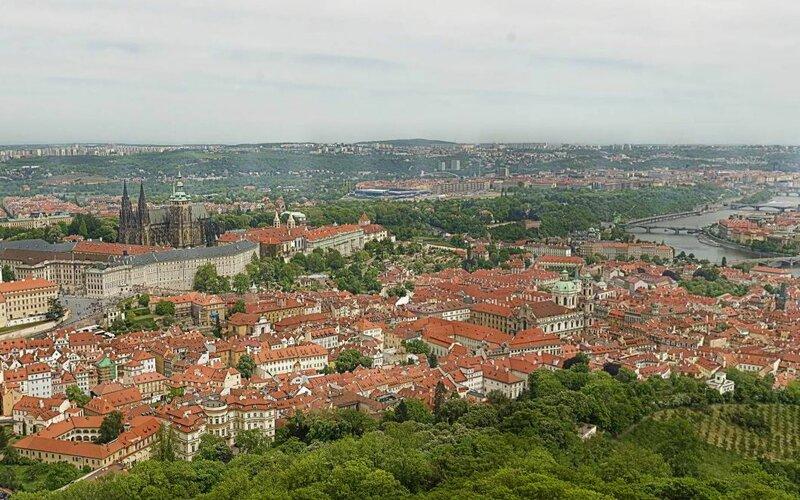 34-гигапиксельная панорама Праги